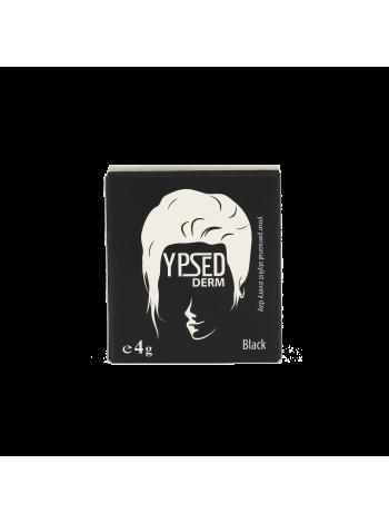 YpsedDerm Black пудра-камуфляж для волос головы и бороды