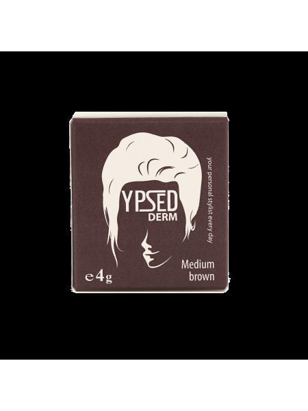 YpsedDerm Medium brown пудра-камуфляж для волос головы и бороды