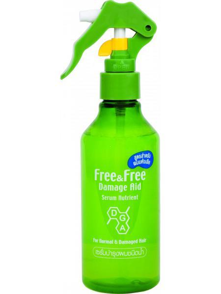 Сыворотка Lion Free&Free против выпадения поврежденных волос 210 мл