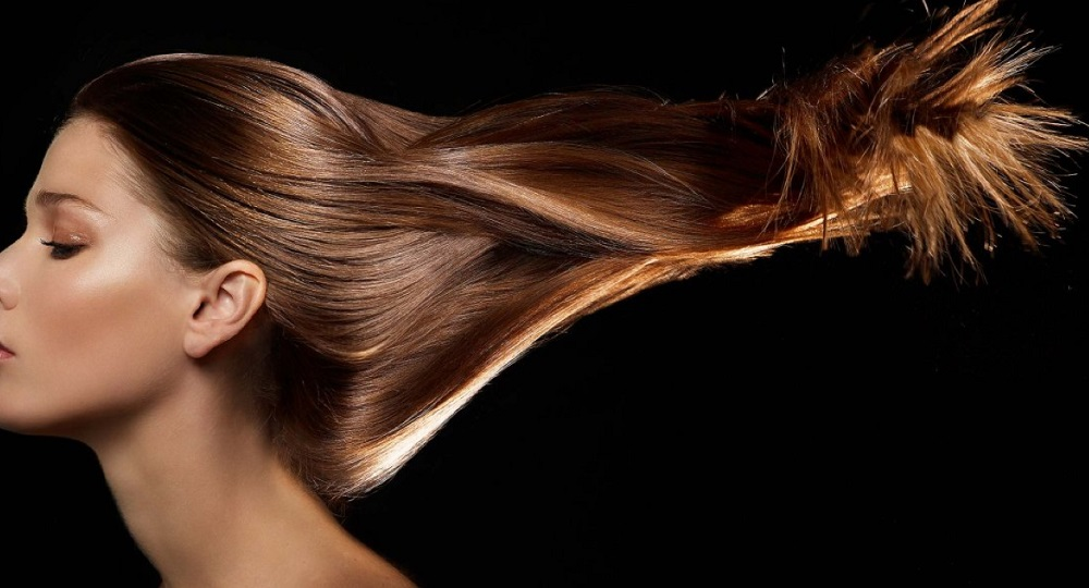 камуфляж на волосах