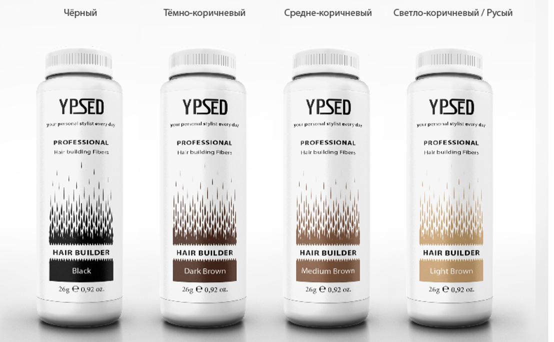 Загуститель для волос Ypsed